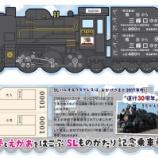 『秩父鉄道 「夢とえがおをはこぶ SLものがたり記念乗車券」発売中』の画像