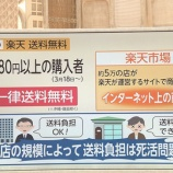 『【悲報】楽天がAmazonに大敗している理由→三木谷社長「送料が無料じゃないからだ!」』の画像