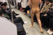 【埼玉】東武スカイツリーライン草加駅、突然全裸の男が電車に乗り込み駅員に連れていかれる