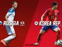 【速報】ロシアが守護神のミス!直後に追いつき韓国とドロー(動画あり)