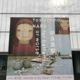 『奈良美智さん展覧会と豊田市美術館にある茶室・『童子苑』』の画像