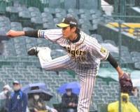 阪神・藤浪5回3失点 立ち上がり3失点も二回以降は無安打投球