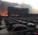 中国天津の爆発現場の街がとんでもないことになっている