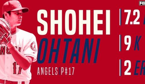 大谷翔平がメジャー最長8回途中110球の力投で4勝目(海外の反応)