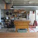 『業務用キッチンのある住宅の画像集(住宅 厨房機器 利用 新築 リフォーム マンション 1/2』の画像