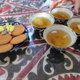 『ウズベキスタン旅行記45 チャイハネでティータイム、サマルカンドの小学生がかっこいい』の画像