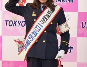 加藤あい(31)の消防署長コスが男前すぎるwwwww