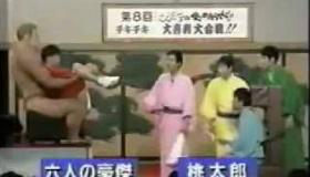 【テレビ】 ガキの使い  クイズに間違えたら、ケツが近づいてくる罰ゲーム   海外の反応