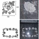 『インドM-10 バラの影彫り』の画像