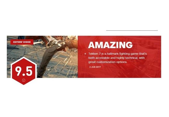 【鉄拳7】最も信頼できるのゲームメディアIGNで9.5点の神ゲー評価