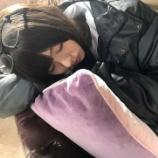 『差し入れコーナー待ってましたw 今回は梅ちゃんの寝顔3連発!!!【乃木坂46】』の画像
