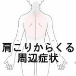 『肩こり・吐き気 室蘭登別すのさき鍼灸整骨院 症例報告』の画像