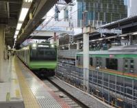 『渋谷駅の新しい山手貨物線ホーム』の画像