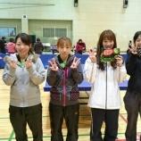 『平成27年度仙台市秋季卓球リーグ戦(女子の部)』の画像