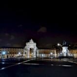 『コルメシオ広場周辺の夜景』の画像