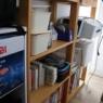 使わない和室を思い切ってまるまる収納&デスクスペースに。