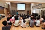 星田小学校の5年生が『田中ぶどう園で傘かけ体験』&小学校でプレゼンがあったみたい~神宮寺ぶどうプロジェクト~
