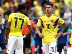 日本に敗れたコロンビア代表の大エース・・・傷心のハメス・ロドリゲスがついに沈黙を破る!