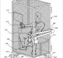 アマゾン 鶏舎のようなケージの中に閉じ込めて奴隷のように従業員を働かせる特許が見つかる