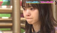 西野七瀬が号泣・・・