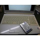 『FUJITSU製ノートパソコン LIFEBOOK AH53/J ハードディスク交換修理』の画像