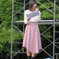 2017年 横浜国立大学常盤祭 その45(ミスYNU2017候補者お披露目の24・司会/鳥海佐和子)