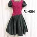 大人ドレス 濃ピンク×黒(9ARサイズ)SOLD OUT