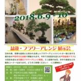 『盆栽・フラワーアレンジ展示会 6月9日・10日(土日)に戸田市文化会館2階展示室で開催!ミニ盆栽や雑貨などの販売もあります(100円から)』の画像