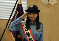 一日警察署長になったGEM武田舞彩ちゃんが可愛すぎる!