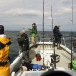 『10月10日 釣果 ジギング 天気予報おいおい・・・ 早上がりっ!!』の画像