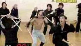 【テレビ】  ガキの使い 山崎邦正 芸歴20周年「山の石松」    海外の反応