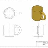 『初心者向けモデリング練習 No.1 マグカップ』の画像