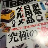 『『日経トレンディ 2015年 1月号』は「究極の逸品」特集!!』の画像