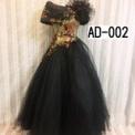 大人ドレス 黒ベース(9Tサイズ) SOLD OUT