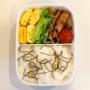 卵焼き器1つ、ワンパターン弁当の一週間はこうなった❣️(中1娘作)