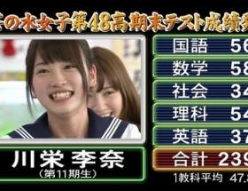 めちゃイケ ワーストバカの川栄李奈ちゃんが可愛すぎと話題