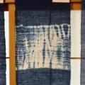 手織り藍染めテーブルセンター