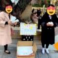 【画像】中国人さん、ネットで高値で買った転売マスクを銀座で無料配布してしまう。