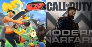 【ゲーム売上】PS4『CoD:MW』が首位!Switch『リングフィット アドベンチャー』が絶好調!