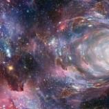 『【タイムトラベル】宇宙でワームホールが発見される』の画像