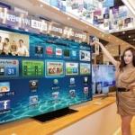 サムスン、画面が宙に浮かぶ75インチ超薄型ベゼル液晶テレビ発売 これは賞賛せざるを得ない