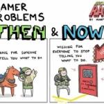 今と昔のゲーマーの変化を描いたマンガが良く出来ていると話題に【海外の反応】