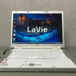 『【送料無料】NEC ノートパソコン LaVie LL550/J』の画像