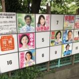 『第25回参議院議員選挙』の画像