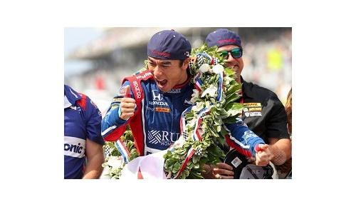 佐藤琢磨が日本人初となるインディ500初制覇、アメリカなど北米から大注目