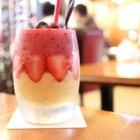 『新世界 ジャンジャン横丁 喫茶店 【千成屋珈琲】ミックスジュース発祥の店でミックスジュースのはずが…』の画像
