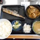 『「さんま炭火焼き牛定食」 吉野家 西八王子駅前店』の画像