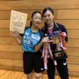 『【 試合結果 】2020年度宮城県卓球選手権大会兼2021年全日本卓球選手権大会(一般の部)宮城県予選会』の画像