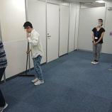 『【早稲田】3年生の清掃実務』の画像