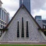 『【クアラルンプール観光】可愛い三角形の小さな教会!タミル・メソジスト教会』の画像